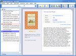 Ebook organizer - Main window